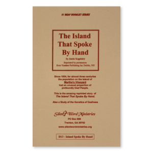 The Island That Spoke by Hand booklet