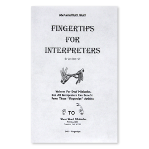 Fingertips for Interpreters booklet
