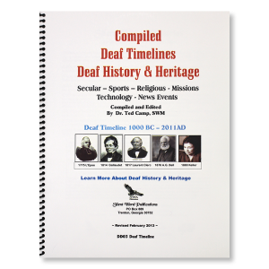 Image of Deaf Timelines - History and Heritage