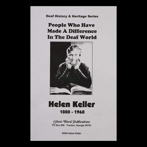 Helen Keller booklet