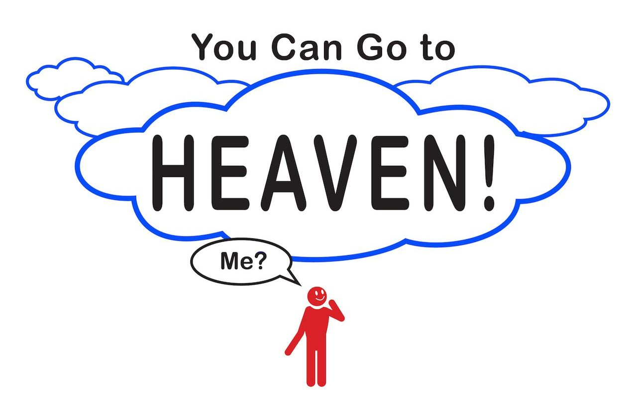 You Can Go to Heaven flipchart image
