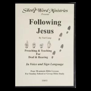 Image of Following Jesus DVD