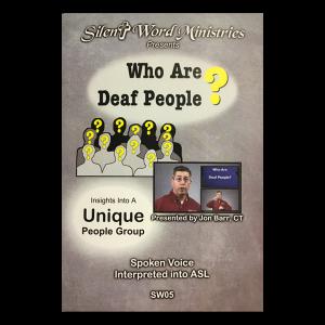Deaf Ministry DVDs
