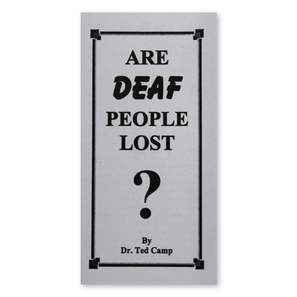 Are Deaf People Lost tract