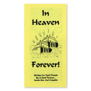 In Heaven Forever tract