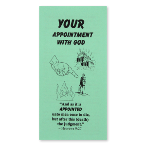 Your Appointment With God tract