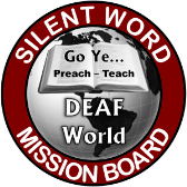 Silent Word Mission Board Logo 168