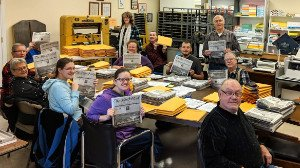 Silent Word Newspaper Volunteers