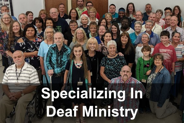 Specializing Deaf Ministry