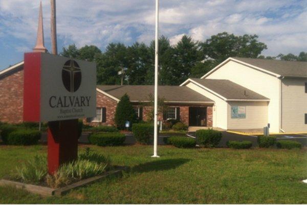 Image of Calvary Baptist Church in Hanson Massachusetts