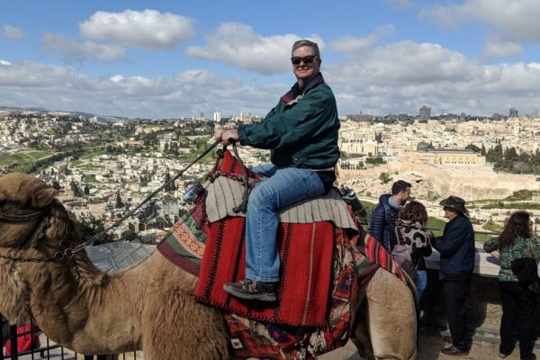 On a Camel in Jerusalem