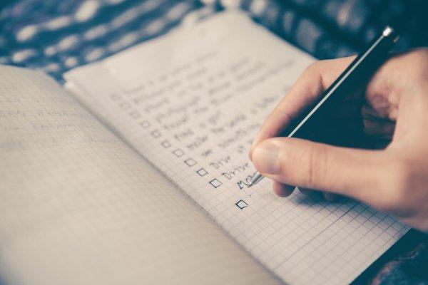 Image of checklist