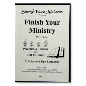 Image of Finish Your Ministry DVD