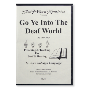 Image of Go Ye Into the Deaf World DVD