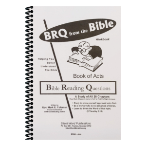 Bible Reading Question manual for Acts