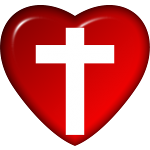 Jesus Cross In Heart