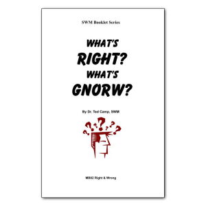 What's Right & What's Wrong booklet