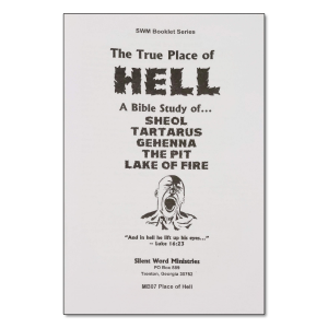 True Place of Hell booklet