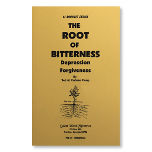Root of Bitterness booklet