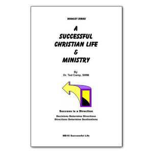 Successful Christian Life & Ministry booklet
