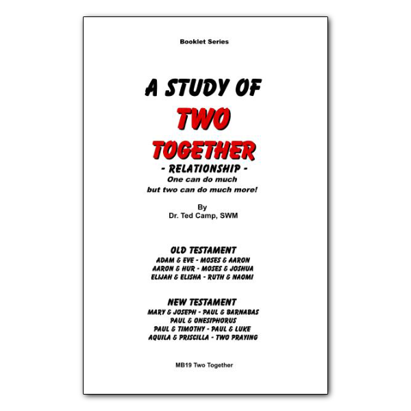 Study of Two Together booklet