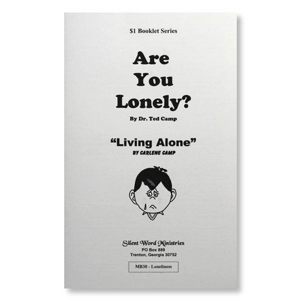 Are You Lonely booklet