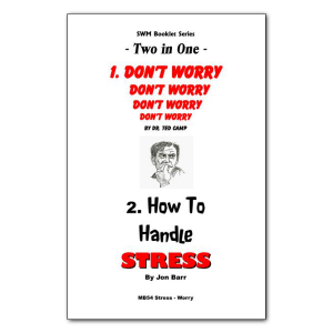 How to Handle Stress booklet