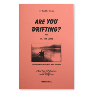 Image for Are You Drifting booklet