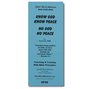 Bible Helps Pamphlets