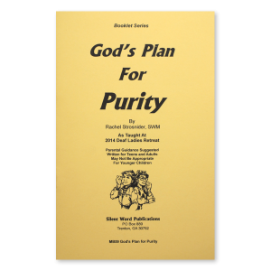 God's Plan For Purity booklet