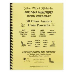 38 Chart Lessons From Proverbs manual