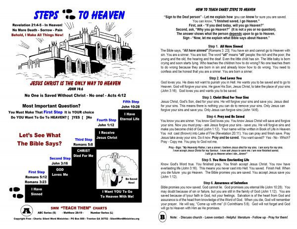 Steps to Heaven Chart image