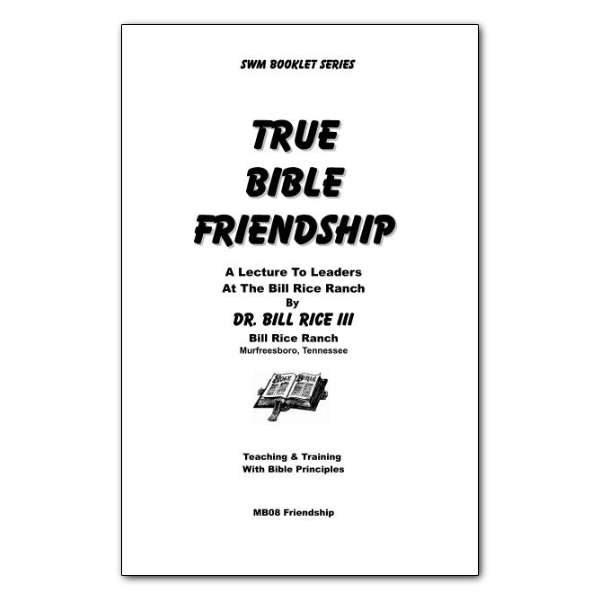 True Bible Friendship booklet