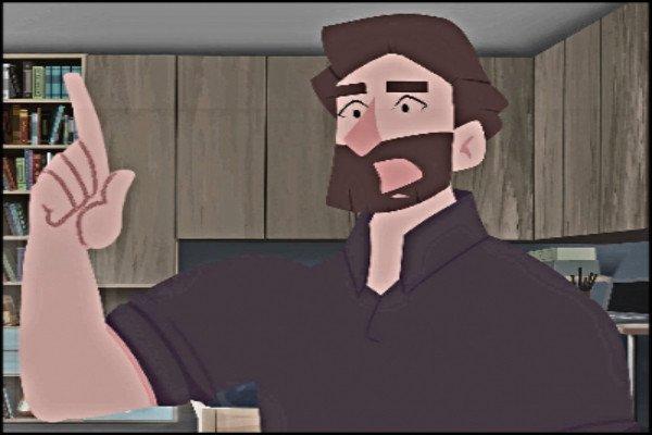 Animated Gospel Cartoon for Deaf