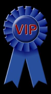 VIP Blue Ribbon