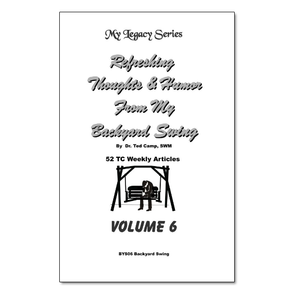 Backyard Swing Vol 6 booklet image