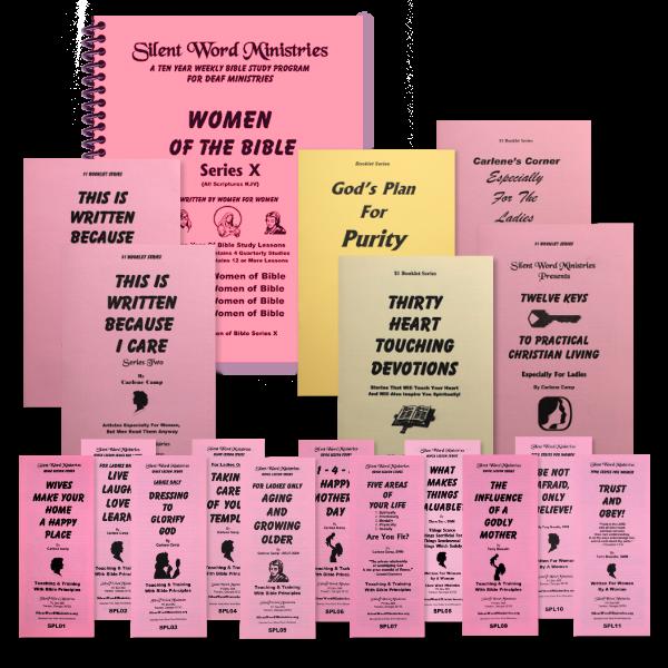 Image of Ladies Bundle Materials