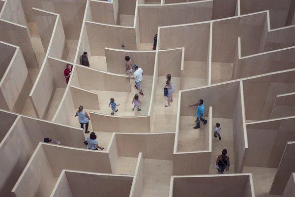 In a Daze in a Maze