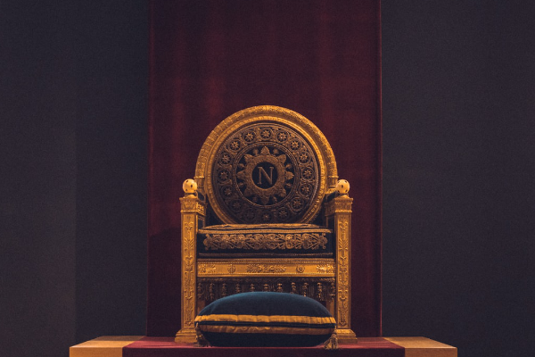 Image of king's throne