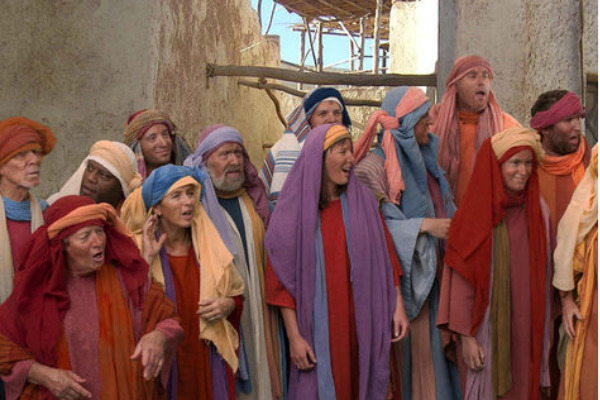 Image of people in the Bible