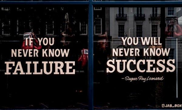Failure – I THINK NOT!