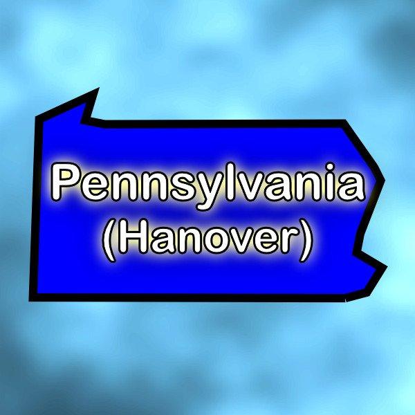 Hanover, Pennsylvania Graphic