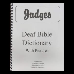 Deaf Bible Dictionary Judges