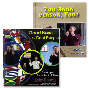 Good News for Deaf and You Good Person You - DVDs